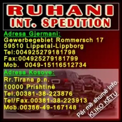 RUHANI INTERNATIONALE SPEDITION & LOGISTIK